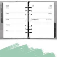 Kalendereinlagen + Tracker 1W2S dot grid