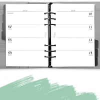 """Kalendereinlagen """"elfenbeinmädchen"""" 1W2S"""