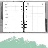Kalendereinlagen Familienkalender 1W2S